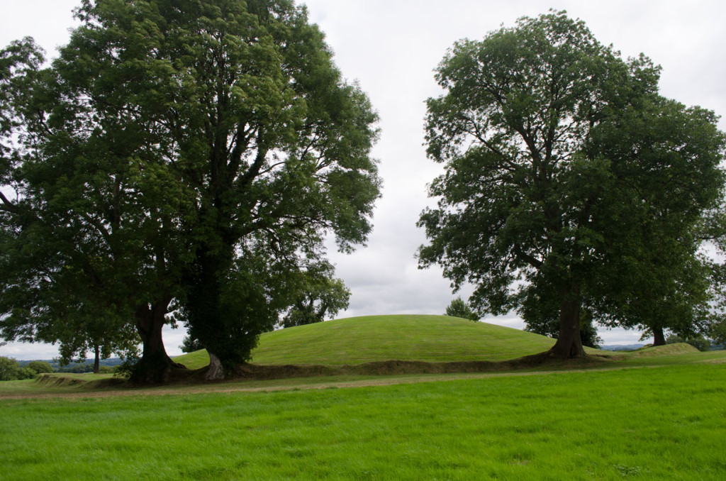 Navan Fort in the Iron Age - site B - ceremonial mound
