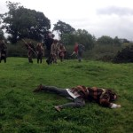 Filming Setanta's Challenge on location : Another casualty of Cú Chulainn